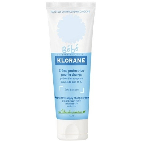 Klorane Bébé Crème Protectrice Pour le Change 75ML