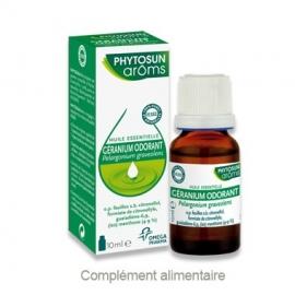 Phytosun Aroms Huile Essentielle Géranium Odorant 10 ml