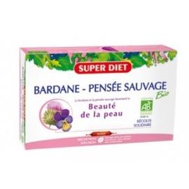 Super Diet Bardane - Pensée Sauvage Bio Beauté De La Peau 20 ampoules