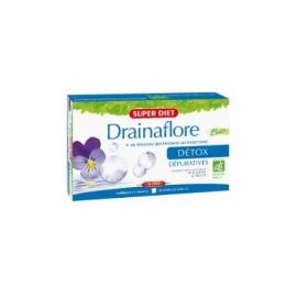 Super Diet Drainaflore Bio Detox 20 ampoules