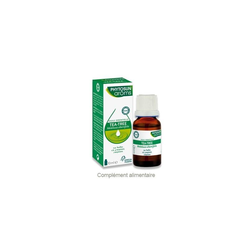 Phytosun aroms huile essentielle tea tree bio 10 ml - Huile essentielle tee tree ...