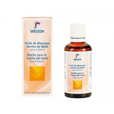Weleda Bébé Huile Massage Ventre de Bébé 50 ML