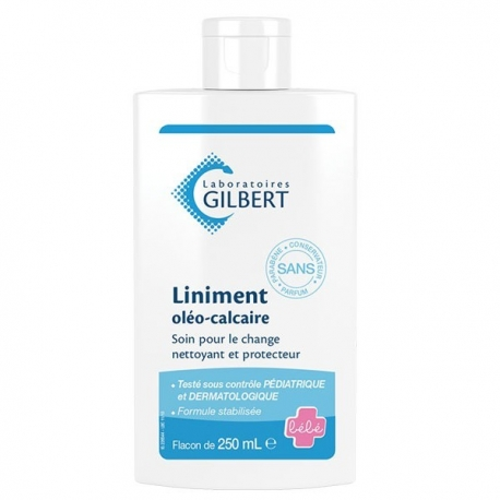 Liniment Oleo Calcaire Gilbert Flacon 250 ml