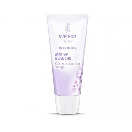Weleda Bébé Crème Protectrice Visage à la Mauve Blanche 50 ml