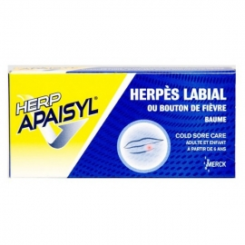 Herpapaisyl Herpès Labial 2 G