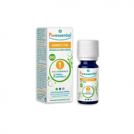 Puressentiel Huile Essentielle Bio D'arbre a The Tea Tree 10 ML