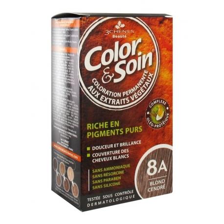 les 3 Chenes Color et Soin 8A Blond Cendre