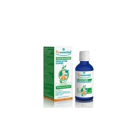 Puressentiel Respiratoire Inhalation Humide Aux 8 Huiles Essentielles 50 ml