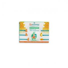 Puressentiel Respiratoire Pastilles Aux 3 Miels Aromatiques x 24 pastilles