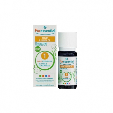 Puressentiel Huile Essentielle Bio De Thym a Linalol 10 ML