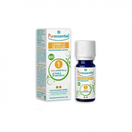 Puressentiel Huile Essentielle Bio Cannelle de Ceylan 5 ml