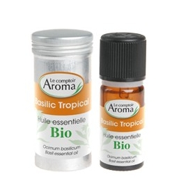 Le Comptoir Aroma Huile Essentielle Bio Basilic Tropical 10 ML