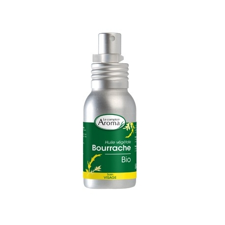 le Comptoir Aroma Huile Végétale Bio Bourrache 50 ML