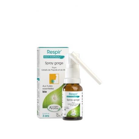 le Comptoir Aroma Respir' Bio Spray Gorge 15 ML
