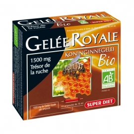 Super Diet Gelee Royale Bio 10 Ampoules X 15 ML