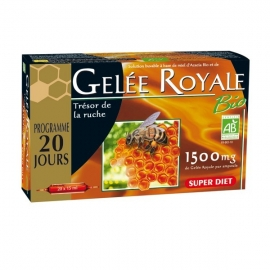 Super Diet Gelee Royale Bio 20 Ampoules X 15 ML