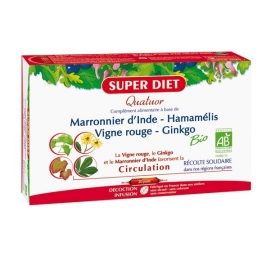 Super Diet Quatuor Circulation Bio 20 Ampoules