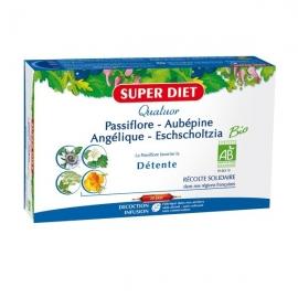 Super Diet Quatuor Détente Bio 20 ampoules