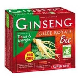 Super Diet Ginseng & Gelée Royale Bio 10 ampoules