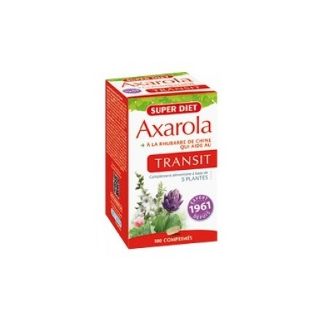 Super Diet Axarola Transit Intestinal 100 Comprimes