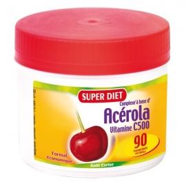 Super Diet Acerola Vitamines C 500 90 Comprimes