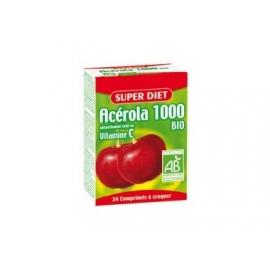 Super Diet Acérola 1000 Vtiamine C Bio 24 comprimés