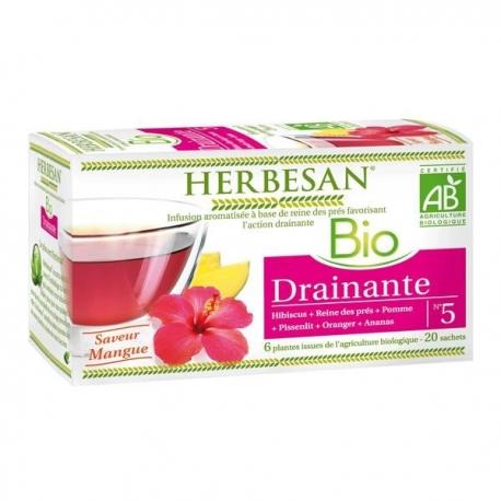 Super Diet Herbesan Infusion Bio Drainante x 20 sachets