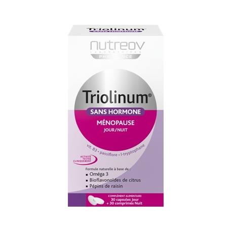 Nutreov Physcience Triolinum Menopause Jour et Nuit 60 Gelules