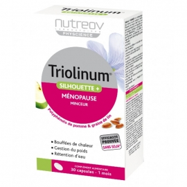 Nutreov Physcience Triolinum Silhouette + Ménopause 30 capsules