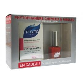 Phyto Coffret Phytophanère + vernis à ongles + kit manucure