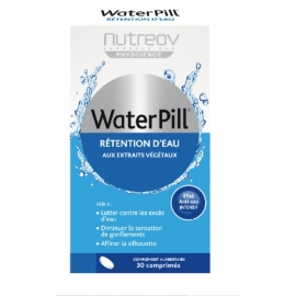 Nutreov Physcience WaterPill Rétentions D'eau 30 Comprimes