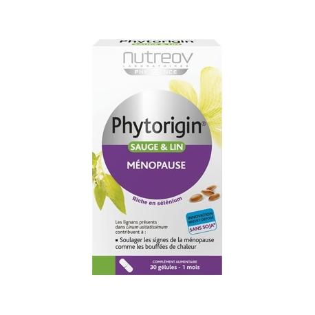 Nutreov Physcience Phytorigin Ménopause 30 Gelules