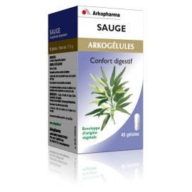 Arkopharma Arkogélules Sauge 45 gélules