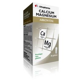 Arkopharma Arkovital Calcium Magnésium 45 gélules