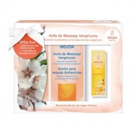 Weleda Huile de Massage Vergétures 2 x 100 ml Offre Spéciale