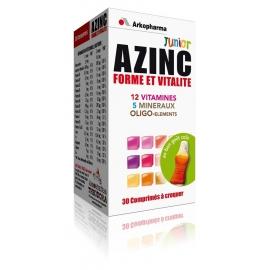 Arkopharma Azinc Forme et Vitalité Junior Goût Cola 30 Comprimés