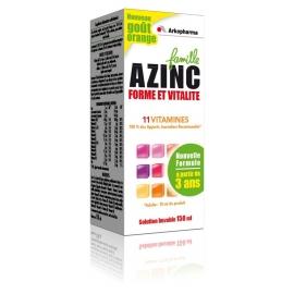 Arkopharma Azinc Forme et Vitalité Famille 150 ml
