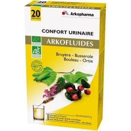 Arkopharma Arkofluides Bio Confort Urinaire 20 Ampoules