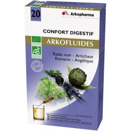 Arkopharma Arkofluides Bio Digestion 20 Ampoules