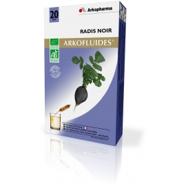 Arkopharma Arkofluides Bio Radis Noir 20 Ampoules