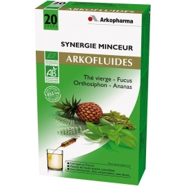 Arkopharma Arkofluides Bio Synergie Minceur 20 Ampoules