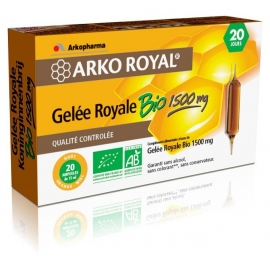 Arkopharma Arko Royal Gelée Royale Bio 1500 mg 20 Ampoules