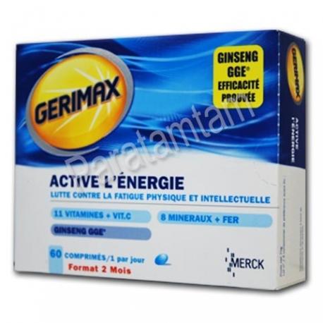 GERIMAX ACTIVE L'ENERGIE 60 COMPRIMES