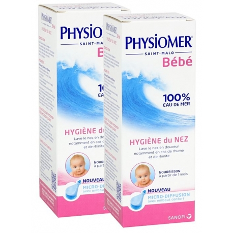Physiomer Nourrisson Micro-diffusion 115 ml X 2