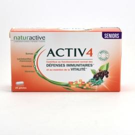 Naturactive Activ 4 Défenses Immunitaires Séniors 2 x 28 gélules