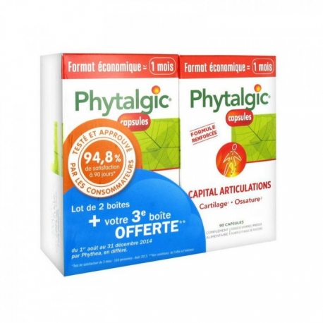 Phytalgic Capital Articulations 2 x 90 Capsules