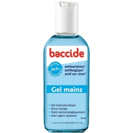 Baccide Gel Mains 75 ML
