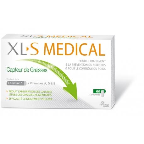XLS Medical Capteur de Graisses 60 Comprimes