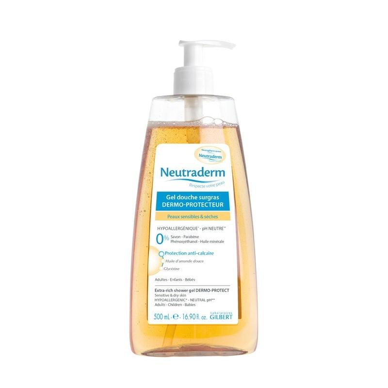 Neutraderm gel douche surgras dermo protecteur 500 ml - Neutrapharm gel douche surgras ...