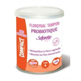 Saforelle Florgynal Tampon Probiotique Mini x 9 Tampons